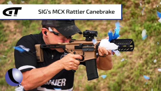SIG's MCX Rattler Canebrake is Suppressor-Ready