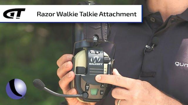 Walker's Razor E-Muffs Walkie Talkie ...