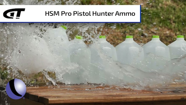 HSM's Pro Pistol Hunter Ammo for Handgun Hunting