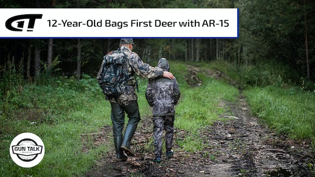 12-Year-Old Takes First Deer with AR-15