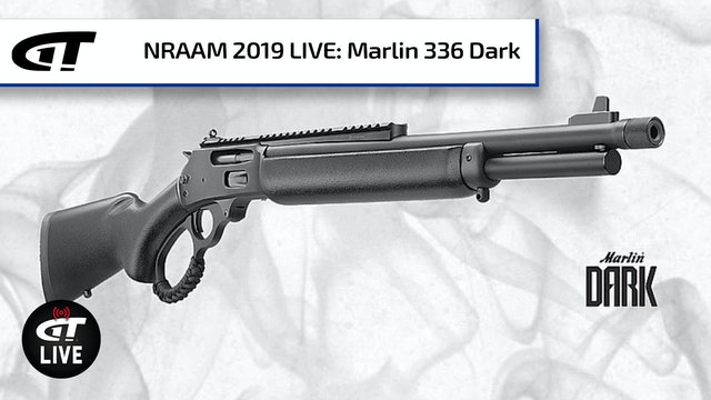Marlin's 336 Dark Lever Action Series