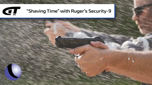 Shooting Shaving Cream with Ruger's S...