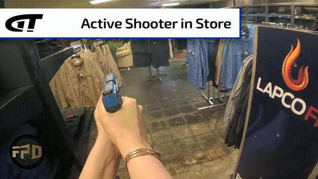 Active Shooter in Local Clothing Store