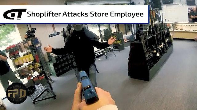 Shoplifter Attacks Store Employee