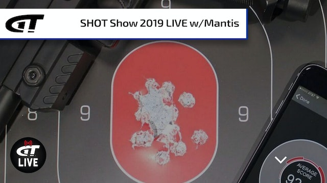 On-Target Shots with MantisX7 and X10