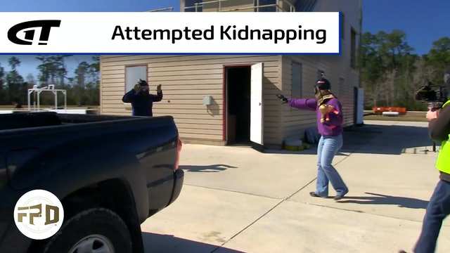 Mom Saves Child from Kidnapper