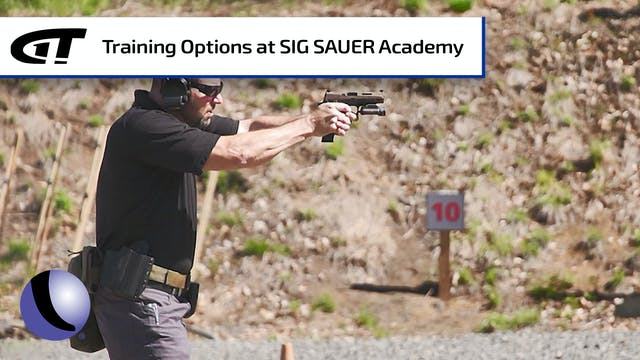 Training Options at Sig Sauer's Academy