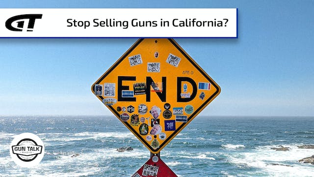 What if Gun Makers Boycotted California?