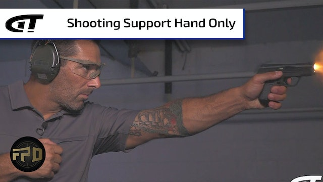 Shooting Support Hand Only
