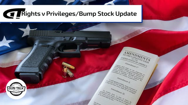 Update on Bump Stock Ban Case