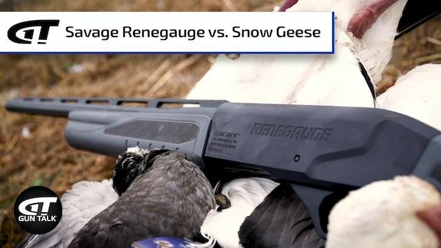 Savage's Renegauge Semi-Auto Shotgun vs. Snow Geese