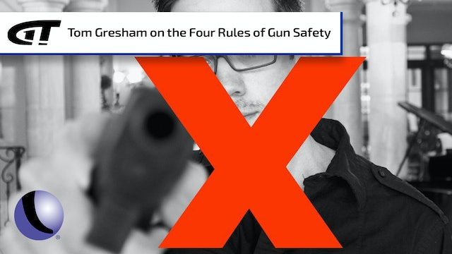 Explaining the Four Rules of Gun Safety