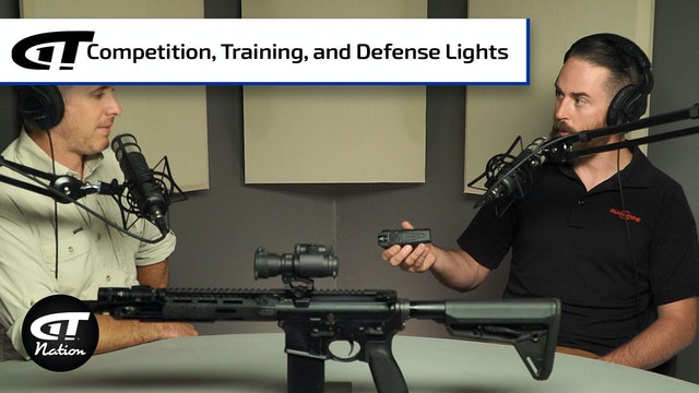 Competition Shooting, Tactical Training, and Lights