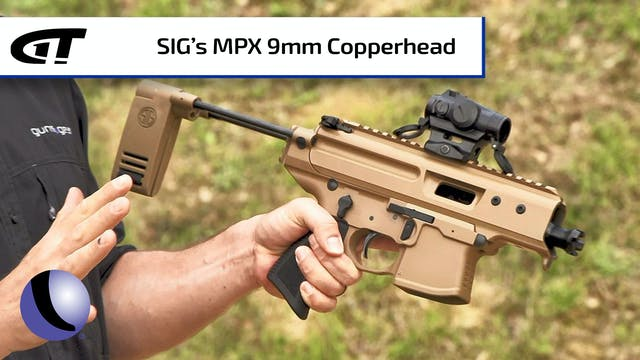 SIG's 9mm MPX Copperhead