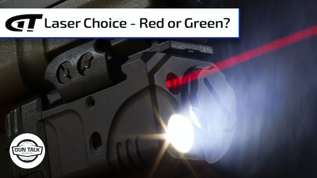 Red or Green - Which is the Best Laser?
