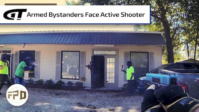 Armed Bystanders Face Active Shooter