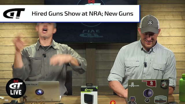 Attend the Hired Guns Show; New Guns from Smith & Wesson, Kimber