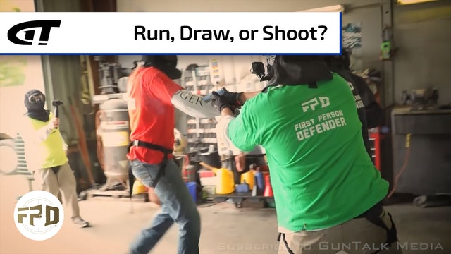 When Would You Run, Draw, or Shoot?