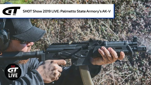 New AK-V 9mm from Palmetto State Armory