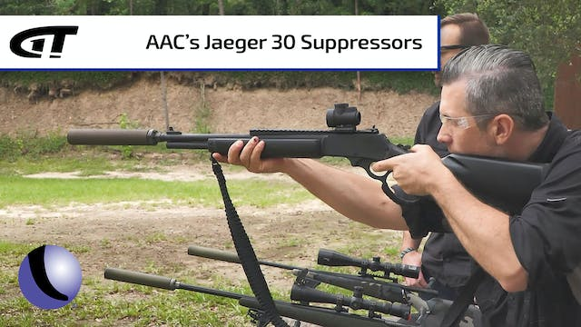 AAC's Jaeger 30 for Suppressed Hunting