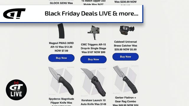 Black Friday Deals: Guns, Ammo, Knive...