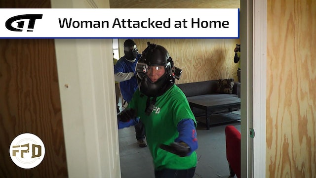 Young Woman Attacked in Home