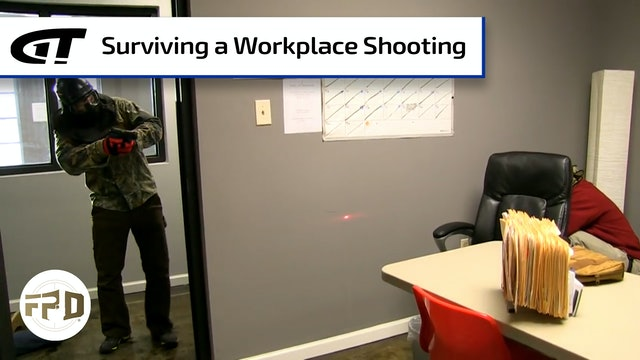 Conceal Carry Holder Survives Workplace Shooting