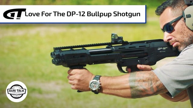 Shooting a Bullpup Shotgun