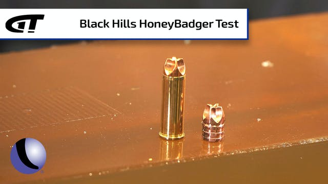 Testing Black Hills' HoneyBadger Ammu...