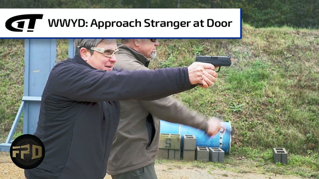 What Would You Do: Stranger at the Back Door - Action vs. Reaction