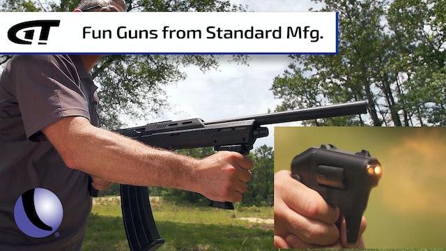 S333 Thunderstruck Revolver, SKO Shorty Shotgun