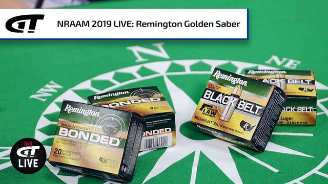 Remington Golden Saber Bonded, Black Belt Ammo