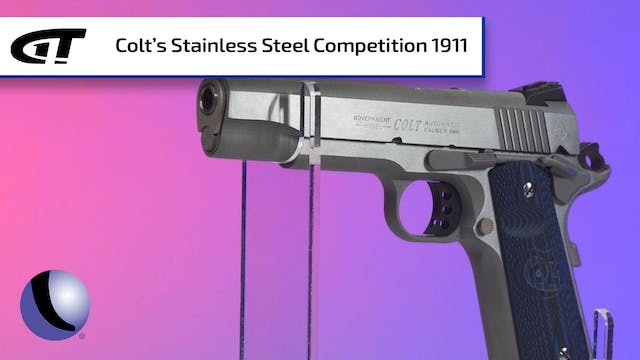 Stainless Steel Colt Competition 1911...