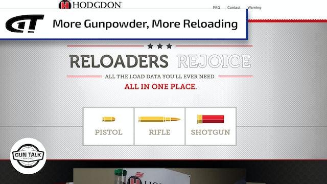 Hodgdon Powder Co. Adds More Gunpowder Makers