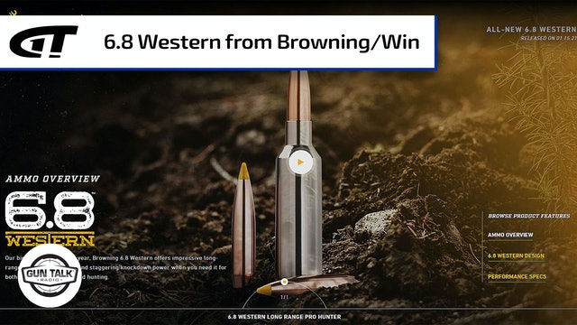 A New Cartridge – The 6.8 Western