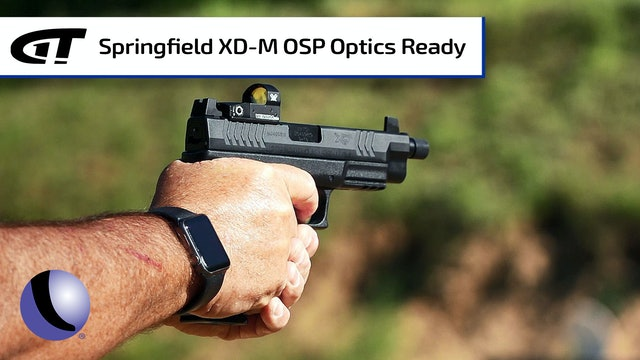 Springfield Armory's XD-M OSP with Threaded Barrel