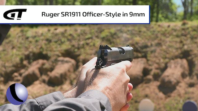 Ruger SR1911 Officer-Style Pistol in 9mm