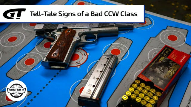 Have You Taken A Bad CCW Class?