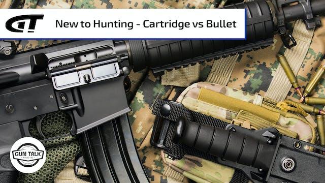 New AR Hunter, Plus Bullet v. Cartridge