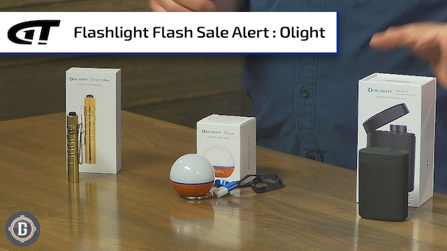 Flash Sale: Olight Lights for a Variety of Uses