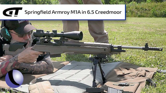 M1A in 6.5 Creedmoor for Long Range Shooting