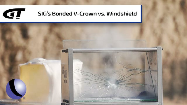 SIG's Bonded V-Crown Ammo On Target T...