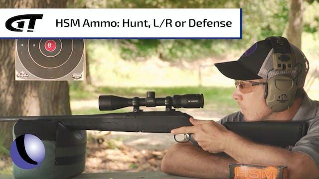 HSM Ammunition - Hunting, Long Range,...