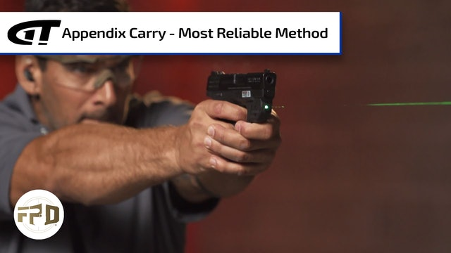 Appendix Carry - Most Reliable Method