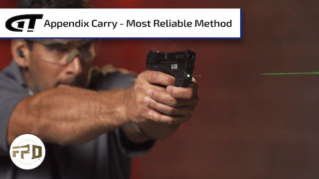 Appendix Carry - Most Reliable Method