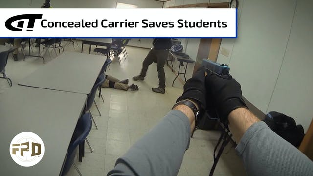 School Shooter Stopped by Concealed C...
