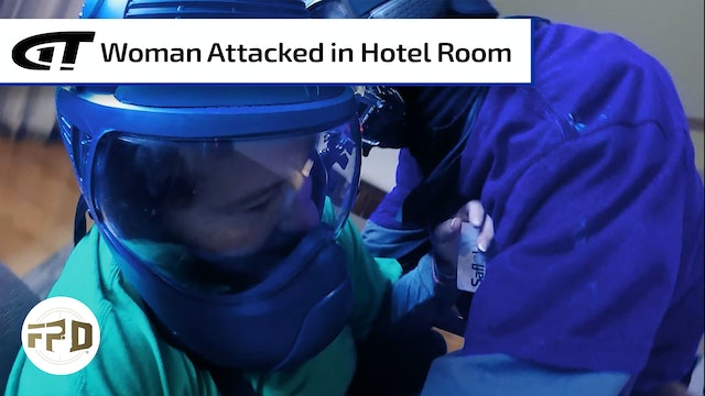 Woman Assaulted in Hotel Push-In