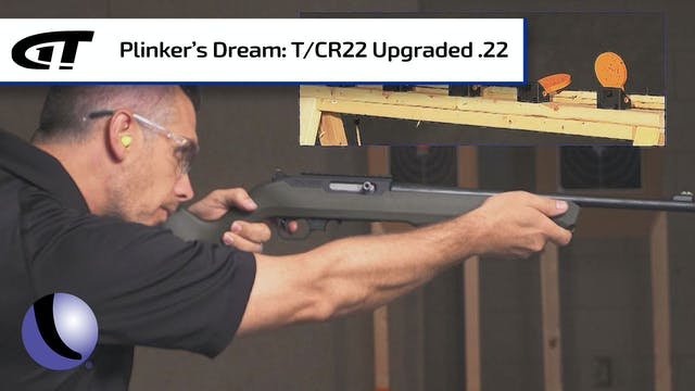Thompson/Center's T/CR22 Upgraded .22...