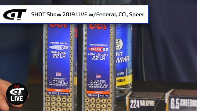 New Ammo from Federal, CCI, Speer
