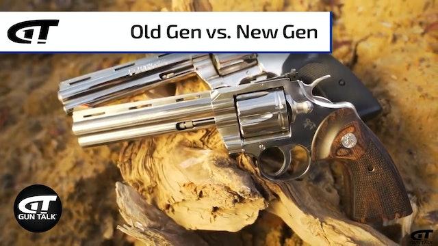 Colt Python - Old vs. New